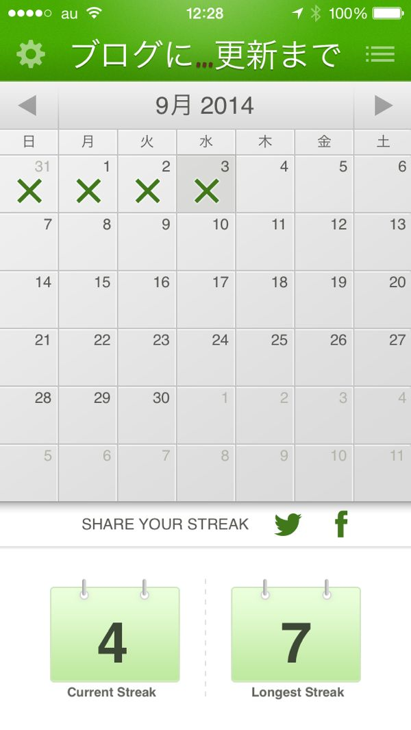 ほぼ日刊目指しモブログも併用 ブログチャレンジ2日目