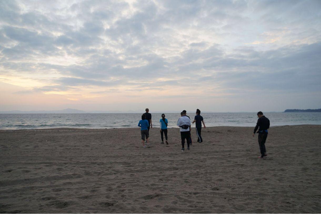 ブログチャレンジ41日目 体重計 ブログ合宿in三浦海岸2日目 ほぼ日刊目指しモブログも併用