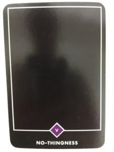 NO-THINGNESS ノー・シングネス(無) OSHO禅タロット 434日目 曇天ウォーキング 20160908