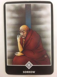 SORROW 嘆き OSHO禅タロット 562日目 日の出前ウォーキング 20170114