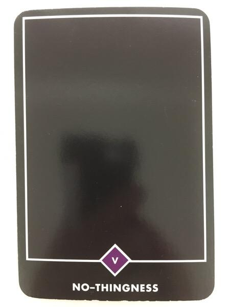 NO-THINGNESS ノー-シングネス(無) OSHO禅タロット 688日目 朝陽ウォーキング 20170520