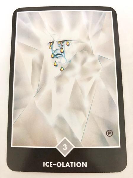 ICE-OLATION アイス-オレーション OSHO禅タロット 889日目 朝陽ウォーキング 20171207