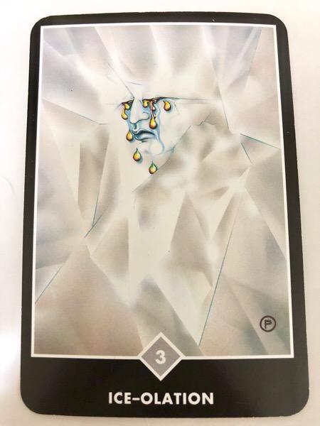 ICE-OLATION アイス-オレーション OSHO禅タロット 911日目 朝陽ウォーキング 20171229