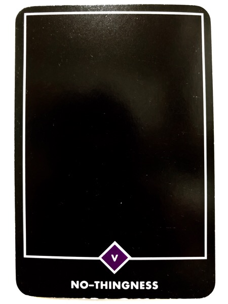 NO-THINGNESS ノー-シングネス(無) OSHO禅タロット 1054日目 朝陽ウォーキング 20180521