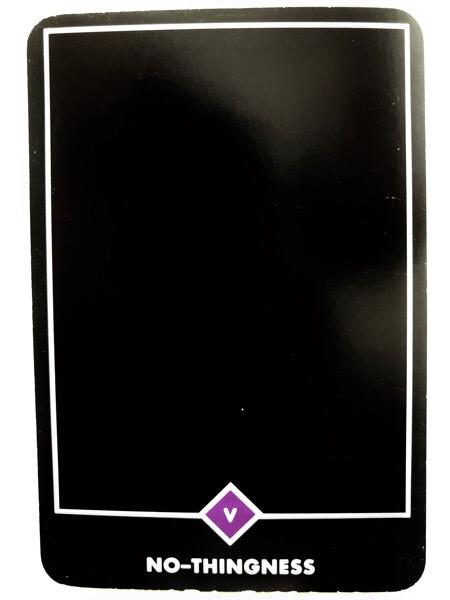 NO-THINGNESS ノー-シングネス(無) OSHO禅タロット 1078日目 曇天ウォーキング 20180614