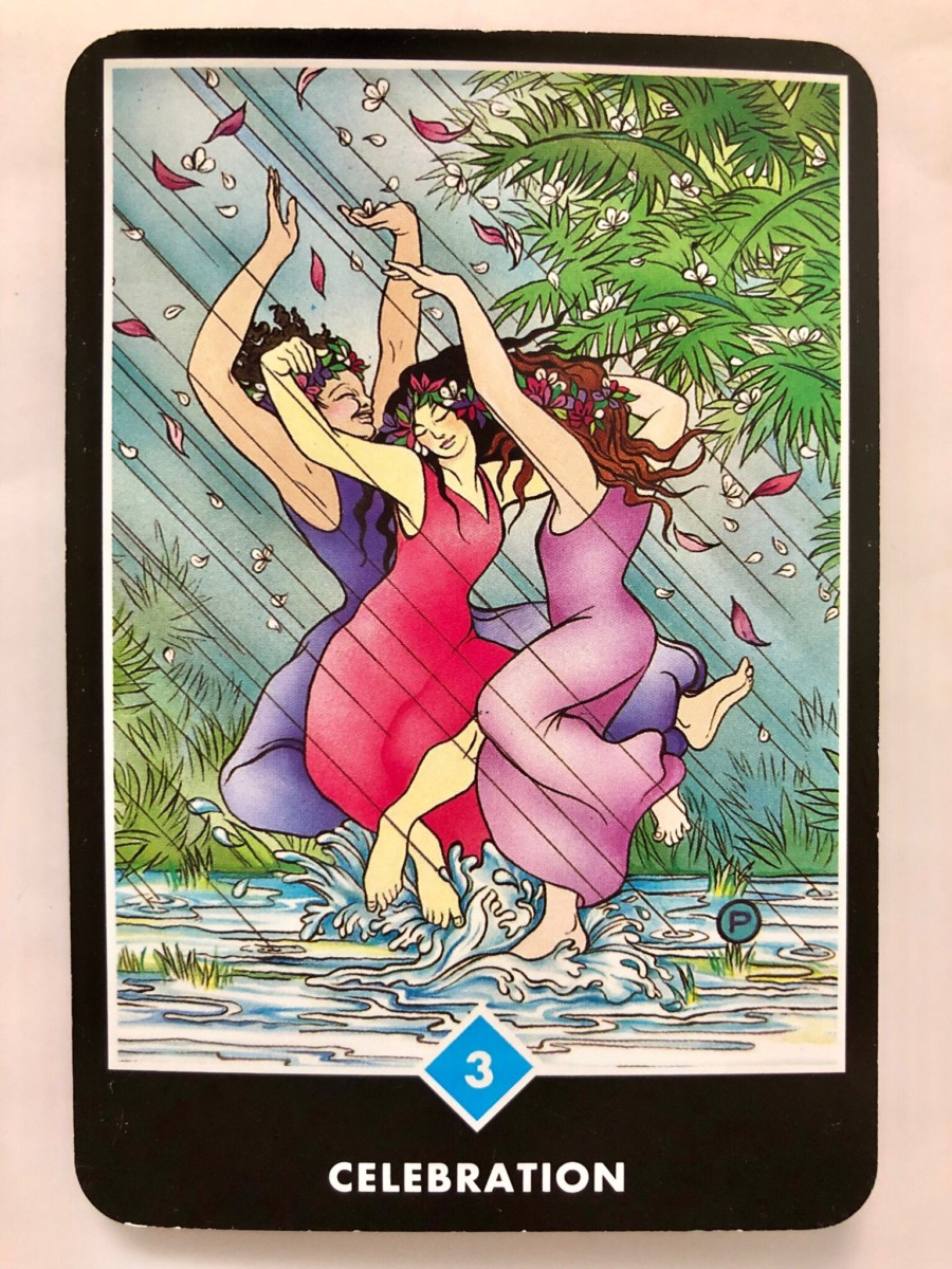 CELEBRATION 祝祭 OSHO禅タロット 1231日目 曇天ウォーキング 20181114