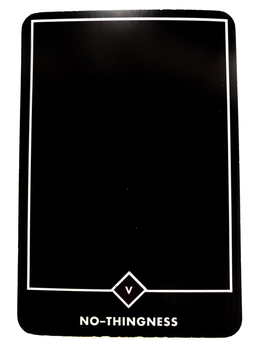 NO-THINGNESS ノーーシングネス(無) OSHO禅タロット 1357日目 朝陽ウォーキング 20190320