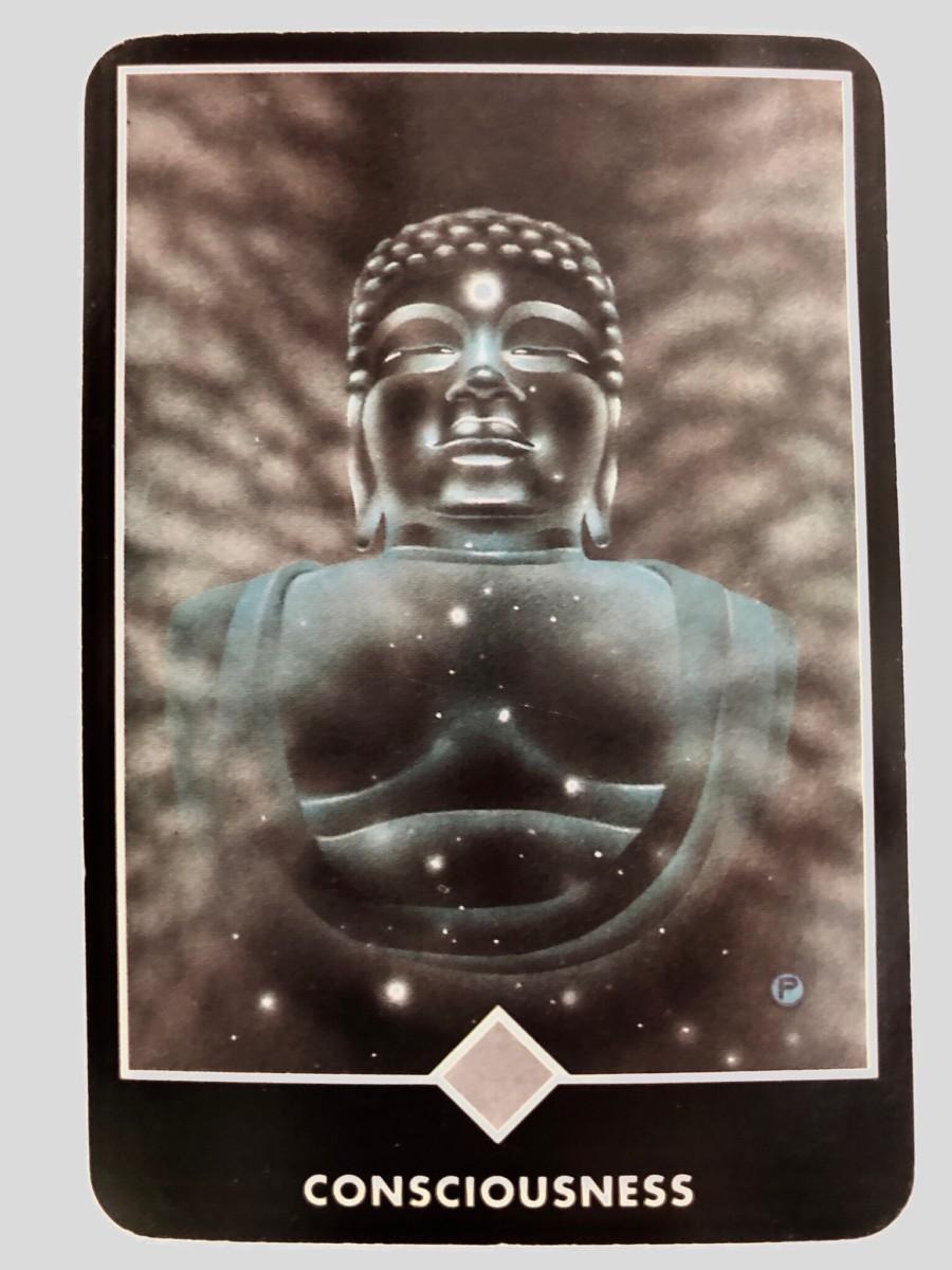 CONSCIOUSNESS 意識 OSHO禅タロット 1422日目 朝陽ウォーキング 20190524