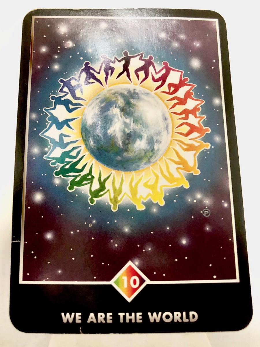 WE ARE THE WORLD ウィ・アー・ザ・ワールド OSHO禅タロット 1539日目 朝陽ウォーキング 20190918