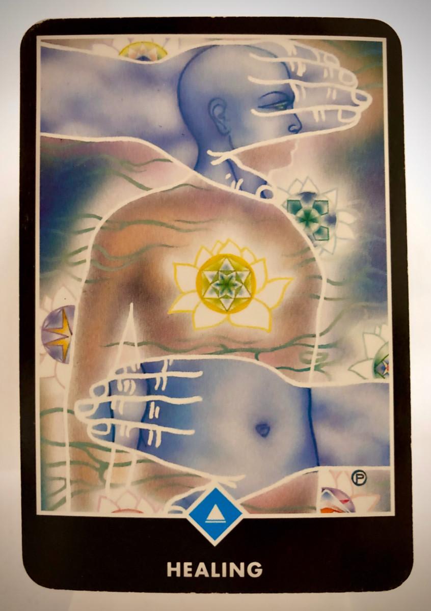 HEALING ヒーリング OSHO禅タロット 1624日目 朝陽ウォーキング 20191212