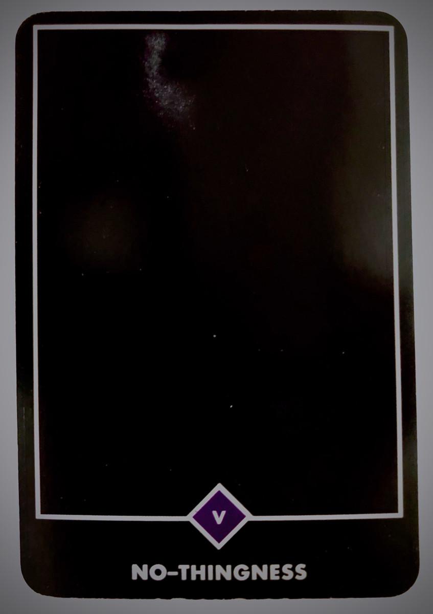 NO-THINGNESS ノー-シングネス(無) OSHO禅タロット 1699日目 日の出前ウォーキング 20200225