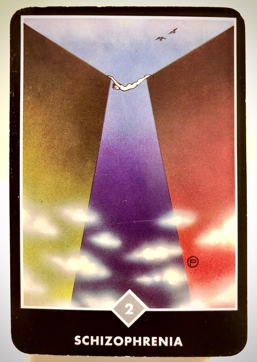 SCHIZOPHRENIA 精神分裂症 OSHO禅タロット 1868日目 朝陽ウォーキング 20200812