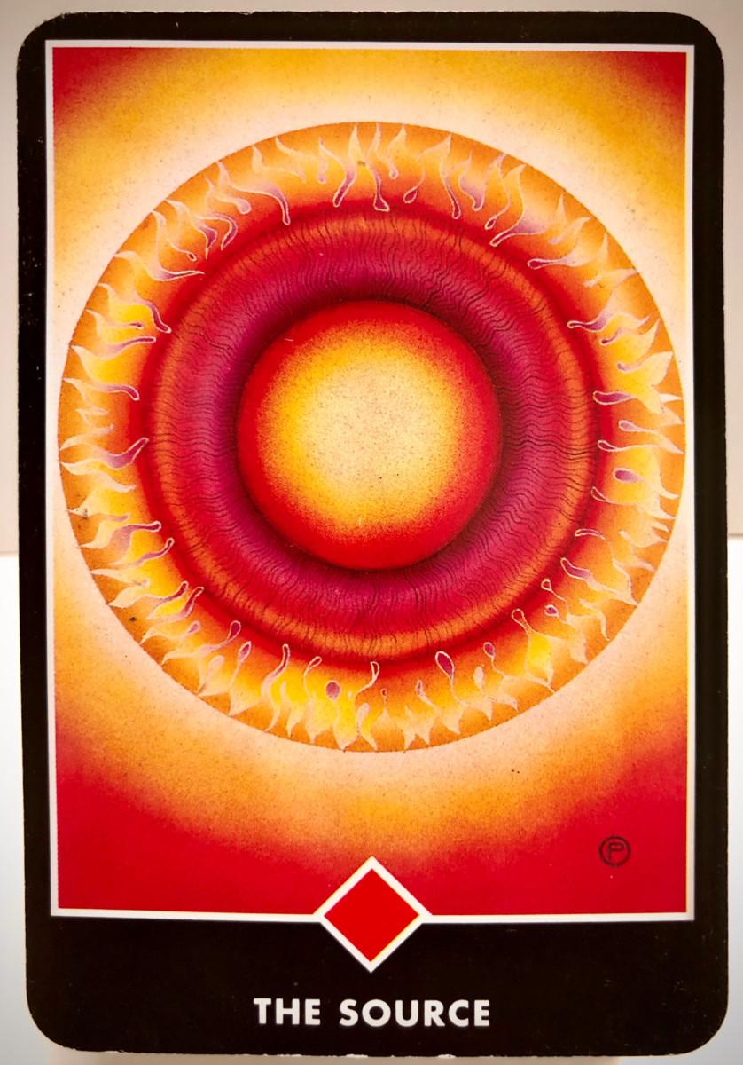 THE SOURCE 源 OSHO禅タロット 1876日目 朝陽ウォーキング 20200820