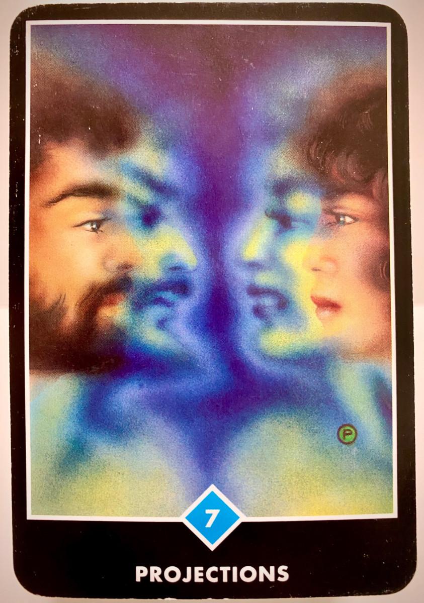 PROJECTIONS 投影 プロジェクション OSHO禅タロット 1895日目 朝陽ウォーキング 20200908