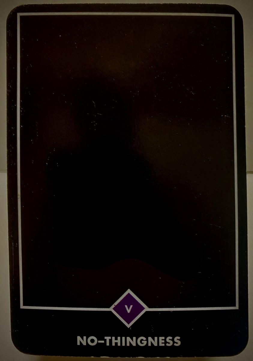 NO-THINGNESS ノー-シングネス(無) OSHO禅タロット 1904日目 曇天ウォーキング 20200917