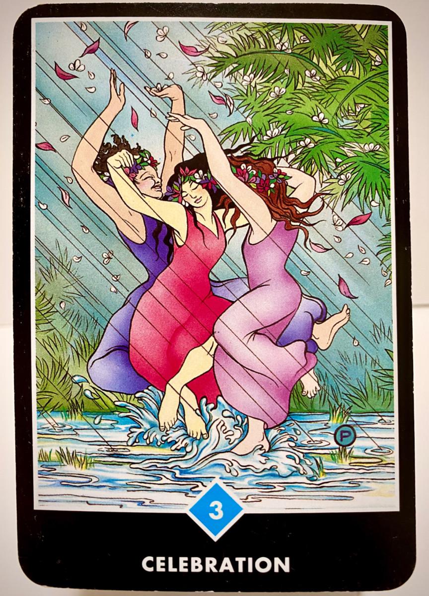 CELEBRATION 祝祭 OSHO禅タロット 1906日目 夜明け前ウォーキング 20200919