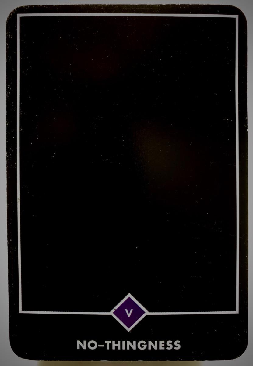 NO-THINGNESS ノー-シングネス(無) OSHO禅タロット 1921日目 日の出前ウォーキング 20201004