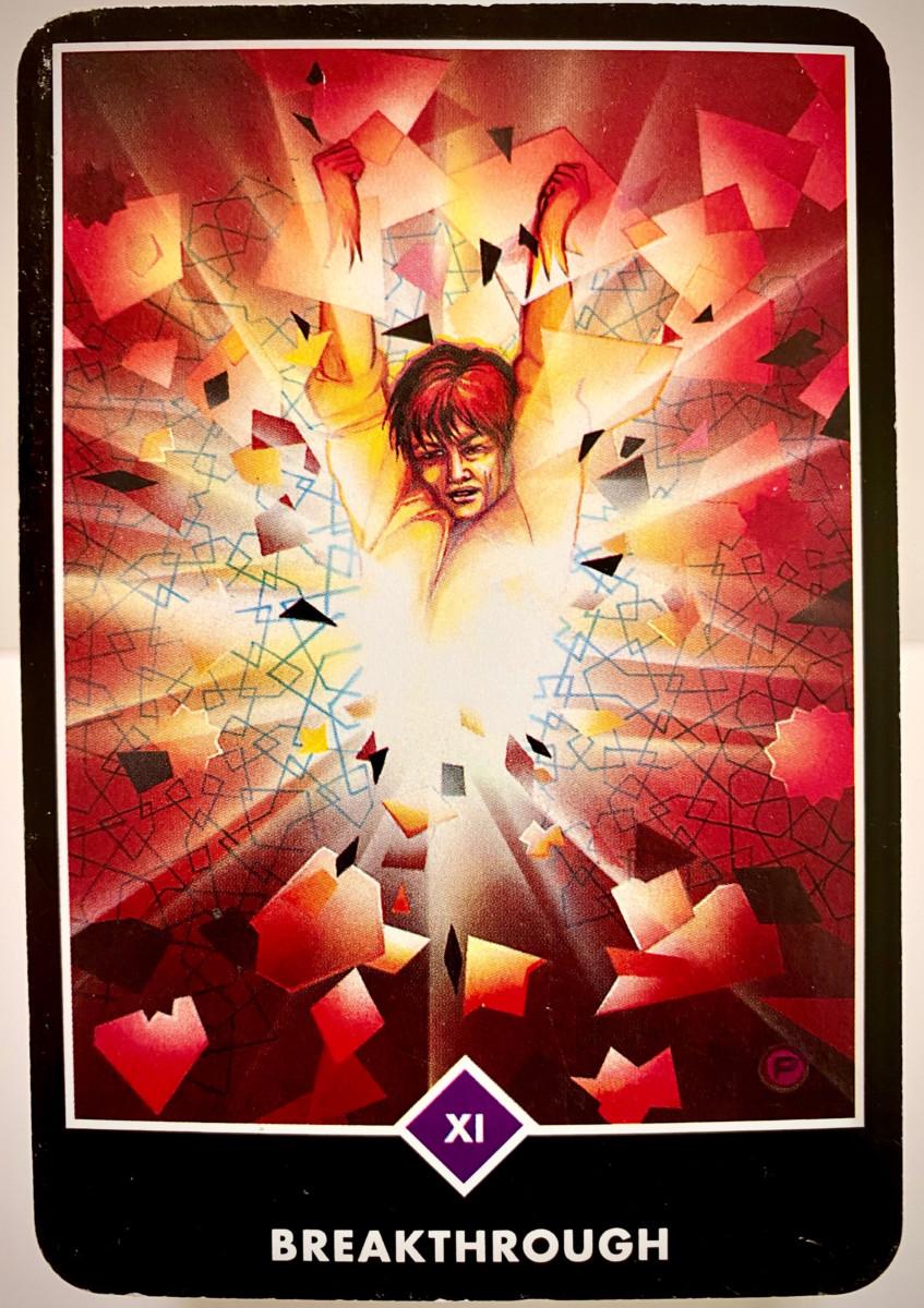 BREAKTHROUGH 突破 ブレイクスルー OSHO禅タロット 1938日目 朝陽ウォーキング 20201021