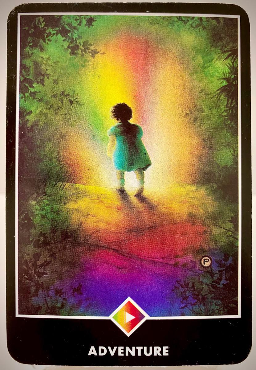 ADVENTURE 冒険 OSHO禅タロット 1953日目 朝陽ウォーキング 20201105