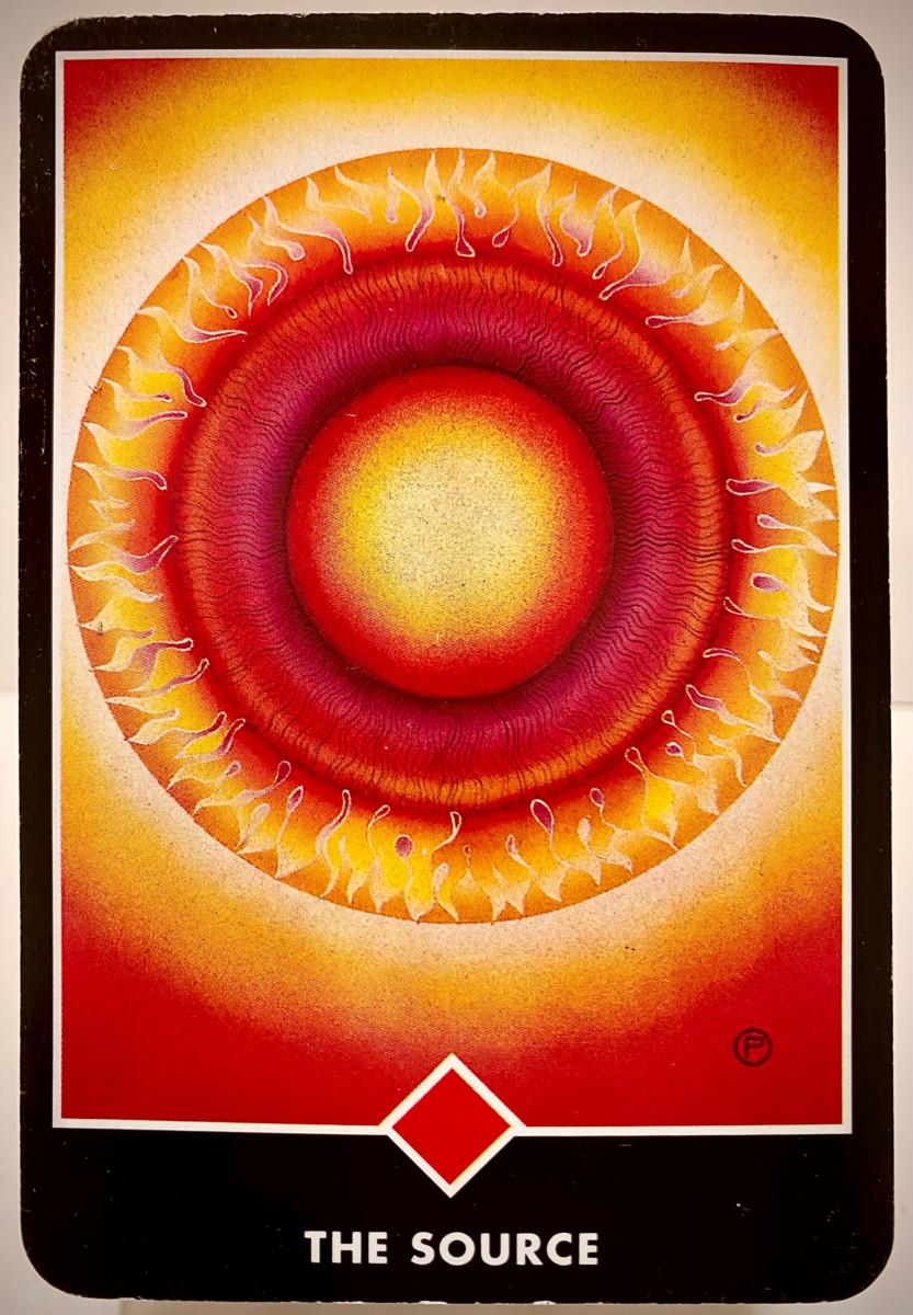 THE SOURCE 源 OSHO禅タロット 1956日目 夜明け前ウォーキング 20201108