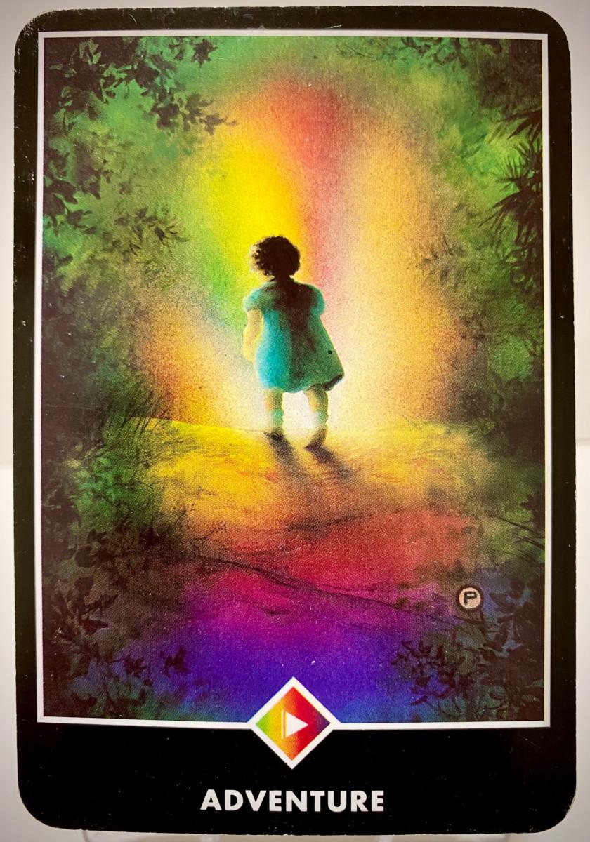 ADVENTURE 冒険 OSHO禅タロット 1970日目 夜明け前ウォーキング 20201122