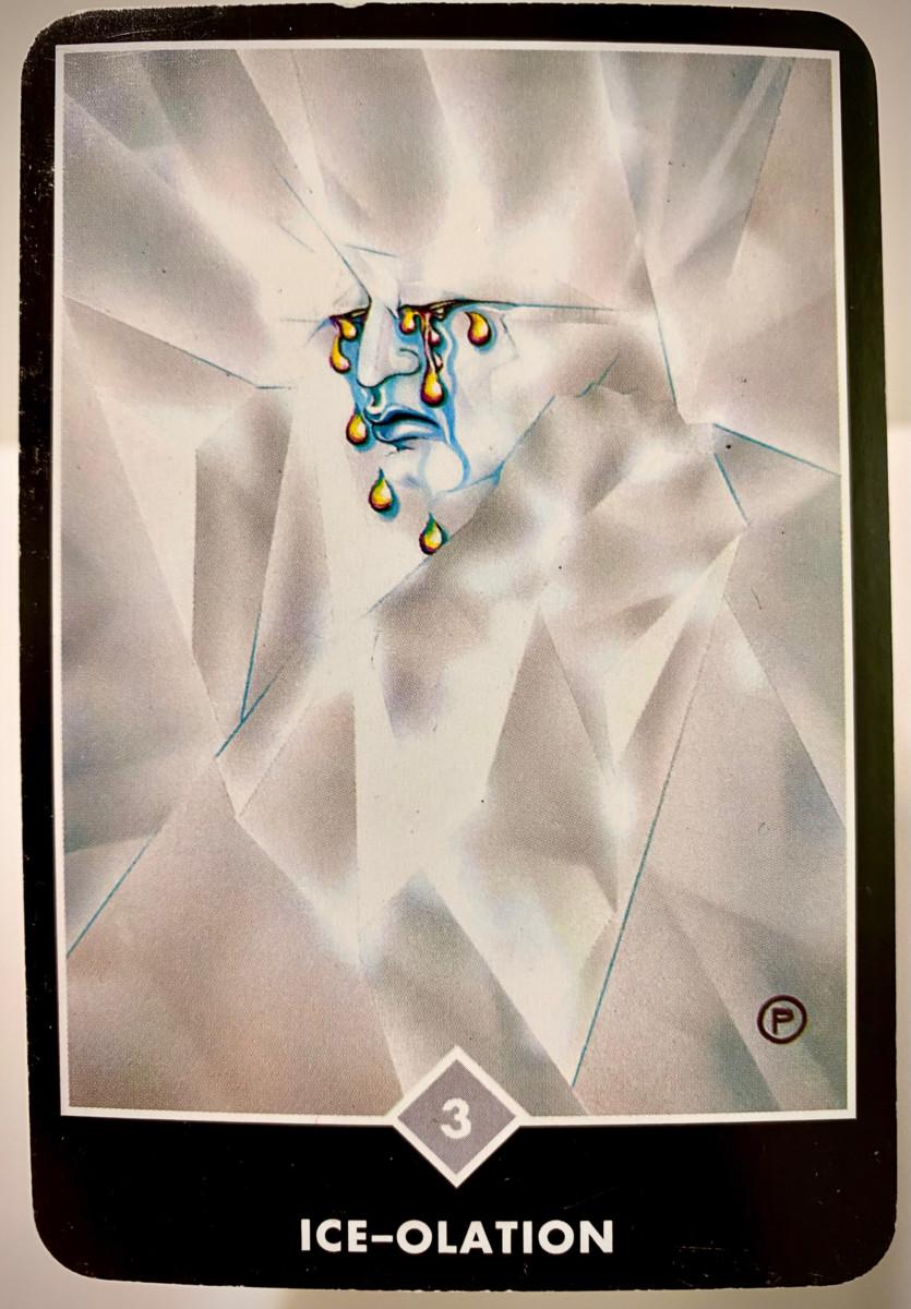 ICE-OLATION アイス-オレーション OSHO禅タロット 2132日目 朝陽ウォーキング 20210503