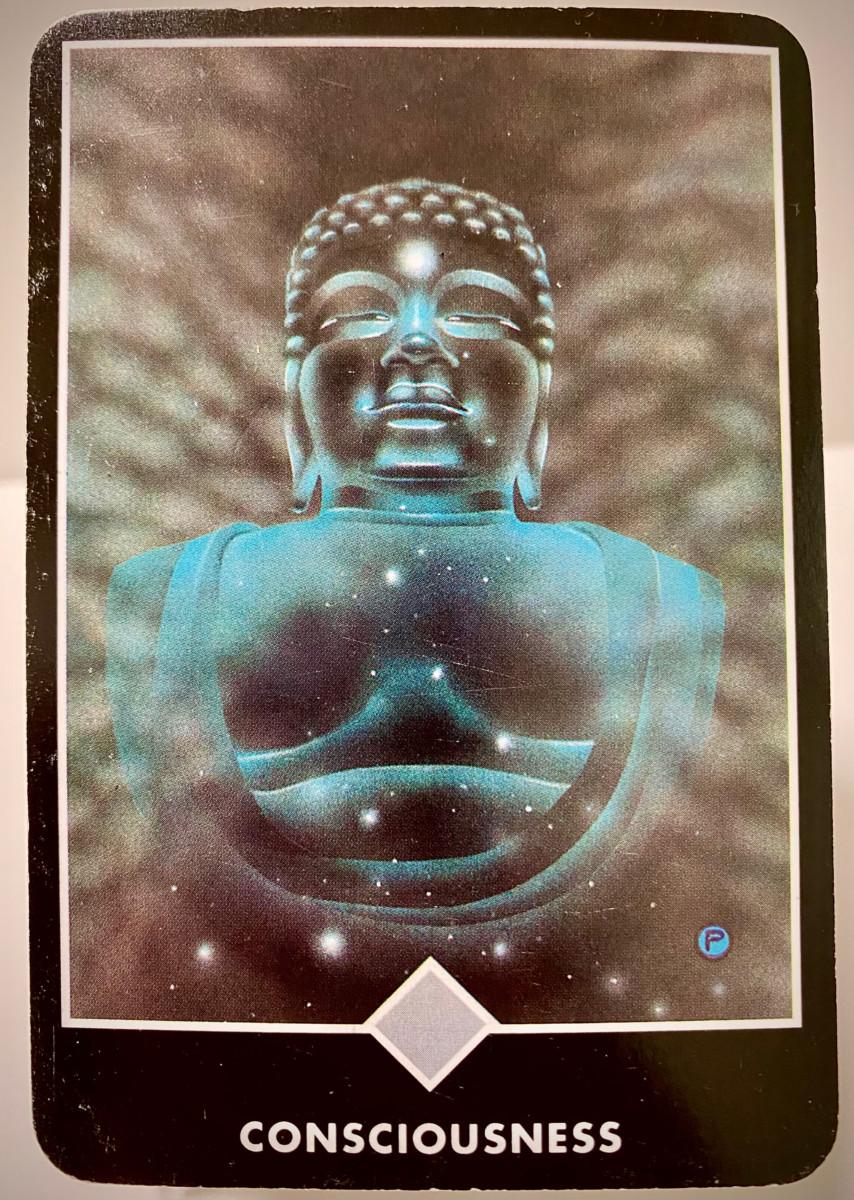 CONSCIOUSNESS 意識 OSHO禅タロット 2134日目 曇天ウォーキング 20210505