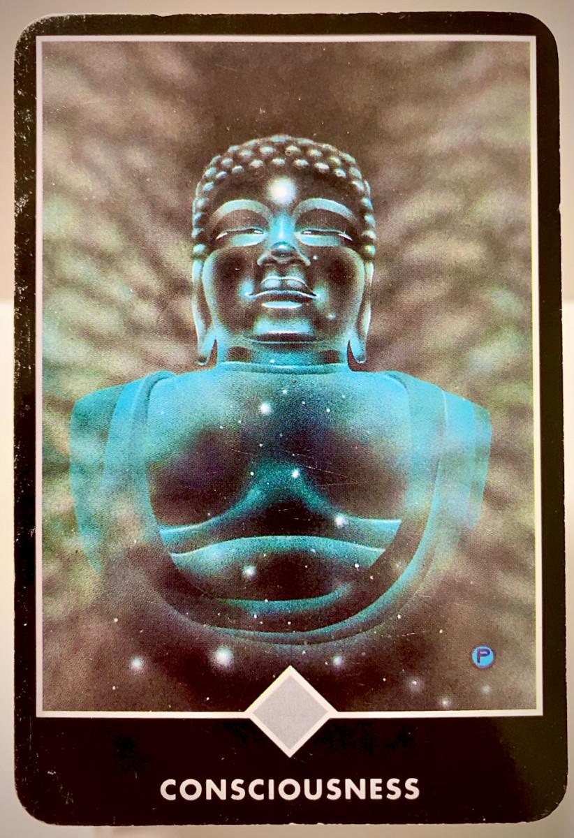 CONSCIOUSNESS 意識 OSHO禅タロット 2247日目 朝陽ウォーキング 20210826